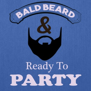 Bald Beard & Ready To Party Tote Bag by Bag Edge - Tote Bag