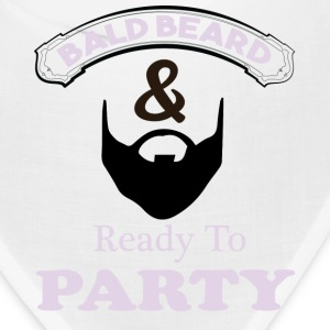 Bald Beard & Ready To Party Bandana - Bandana
