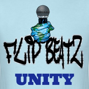 I FLIP BEATZ UNITY MEN - Men's T-Shirt