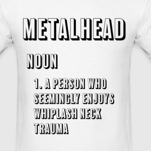 Metalhead Definition - Men's T-Shirt