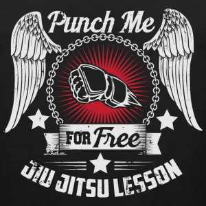 punch me for free jiu jitsu lesson Sportswear - Men's Premium Tank