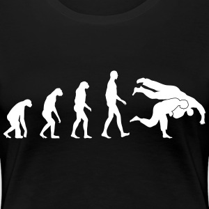 evolution judo T-Shirts - Women's Premium T-Shirt