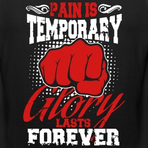 pain is temporary pride is forever Sportswear - Men's Premium Tank