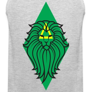 Lion Art - Big Cat Sportswear - Men's Premium Tank