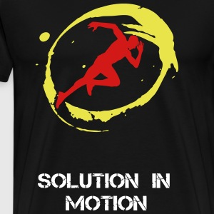 Solution in Motion - Men's Premium T-Shirt