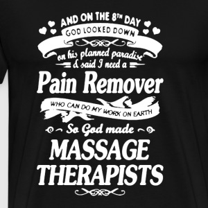 Massage Therapis Shirt - Men's Premium T-Shirt