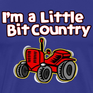 Little Bit of Country - Men's Premium T-Shirt