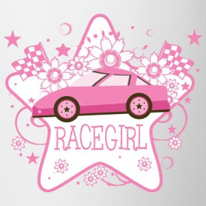 Pink Racecar  - Coffee/Tea Mug