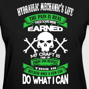 Hydraulic Mechanic Shirt - Women's T-Shirt