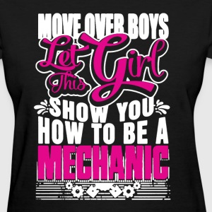 Girl Mechanic Shirt - Women's T-Shirt