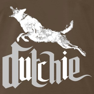 Dutchie, Dutch Shepherd Dog - Men's Premium T-Shirt
