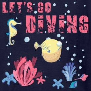 lets_go_diving_07201603 Kids' Shirts - Kids' T-Shirt