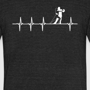 Dancer Job Heartbeat Love - Unisex Tri-Blend T-Shirt by American Apparel