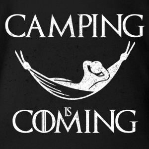 Camping is Coming - Short Sleeve Baby Bodysuit