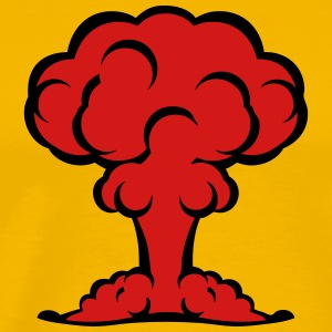 atomic bomb explosion mushroom cloud 506 T-Shirts - Men's Premium T-Shirt
