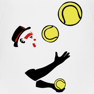 tennis ball juggler Kids' Shirts - Kids' Premium T-Shirt