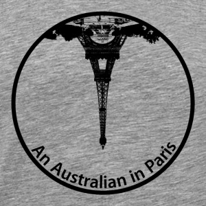 An Australian in Paris - Men's Premium T-Shirt