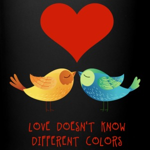 love_doesnt_know_different_colors_072016 Mugs & Drinkware - Full Color Mug