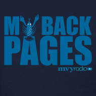 Design ~ My Back Pages t-shirt -- Ladies