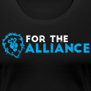 For the alliance - Women's Premium T-Shirt