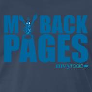 Design ~ My Back Pages t-shirt -- Mens/Unisex