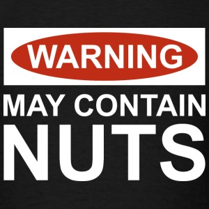May Contain Nuts - Men's T-Shirt