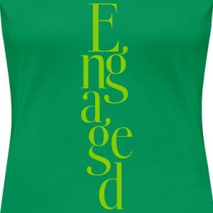Just engaged_T-Shirt - Women's Premium T-Shirt