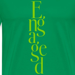 Just engaged_T-Shirt - Men's Premium T-Shirt