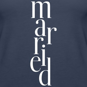 Married_T-Shirt - Women's Premium Tank Top