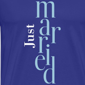 Just married_T-Shirt  - Men's Premium T-Shirt