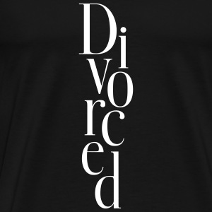 Divorced - Men's Premium T-Shirt