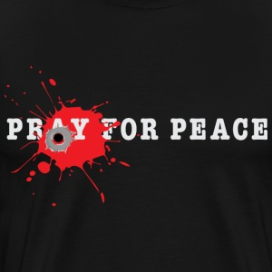 Peace Bullet End Gun Violence Tee - Men's Premium T-Shirt