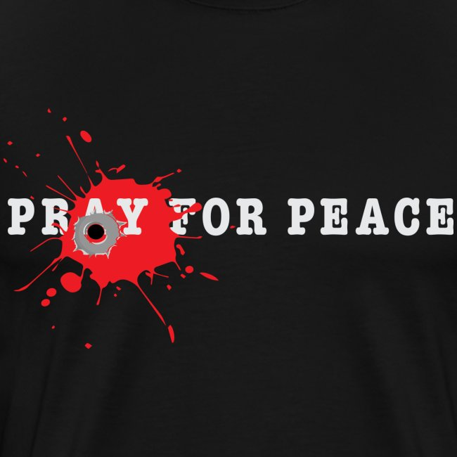 Peace Bullet End Gun Violence Tee