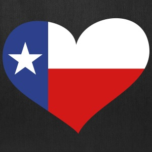Texas Heart Bags & backpacks - Tote Bag