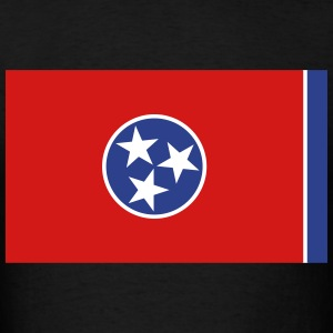 Flag Tennessee T-Shirts - Men's T-Shirt