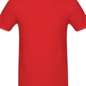 Big Lava Love Heart - Men's T-Shirt