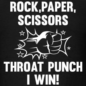 Throat Punch I Win - Men's T-Shirt