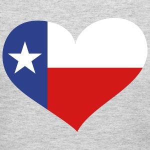 Texas Heart Long Sleeve Shirts - Women's Long Sleeve Jersey T-Shirt
