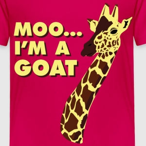 Moo... I'm A Goat Baby & Toddler Shirts - Toddler Premium T-Shirt