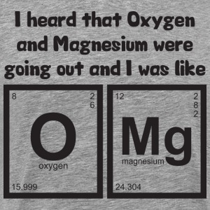 OMG - Oxygen and Magnesium T-Shirts - Men's Premium T-Shirt