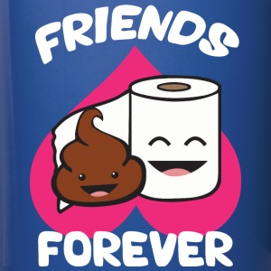 Friends Forever - Poop and Toilet Paper Roll Mugs & Drinkware - Full Color Mug