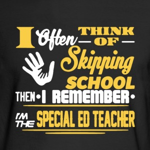 Specia Ed Teacher Shirt - Men's Long Sleeve T-Shirt