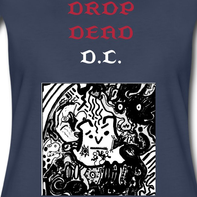 Women's Drop Dead Psychedelic