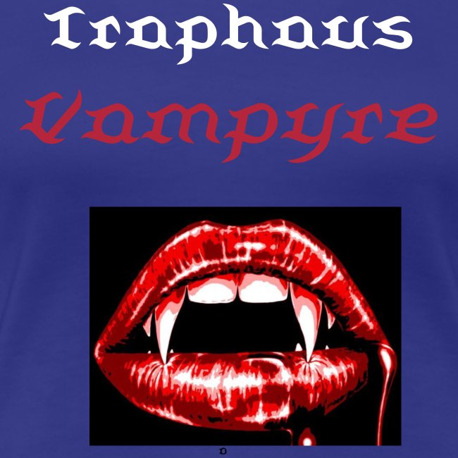 TRAPHAUS VAMPYRE TEETH WOMEN'S TEE
