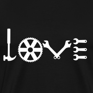 Love Mechanic Shirt - Men's Premium T-Shirt