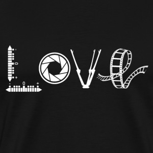 Love Photographer Shirt - Men's Premium T-Shirt