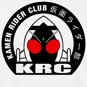 Kamen Rider Club Black Logo 02 - Men's Premium T-Shirt