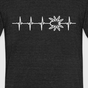 Tarantula Heartbeat Love - Unisex Tri-Blend T-Shirt by American Apparel