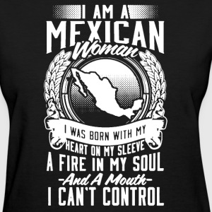 Mexican Woman Shirt - Women's T-Shirt
