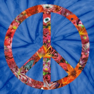 flower peace light T-Shirts - Unisex Tie Dye T-Shirt